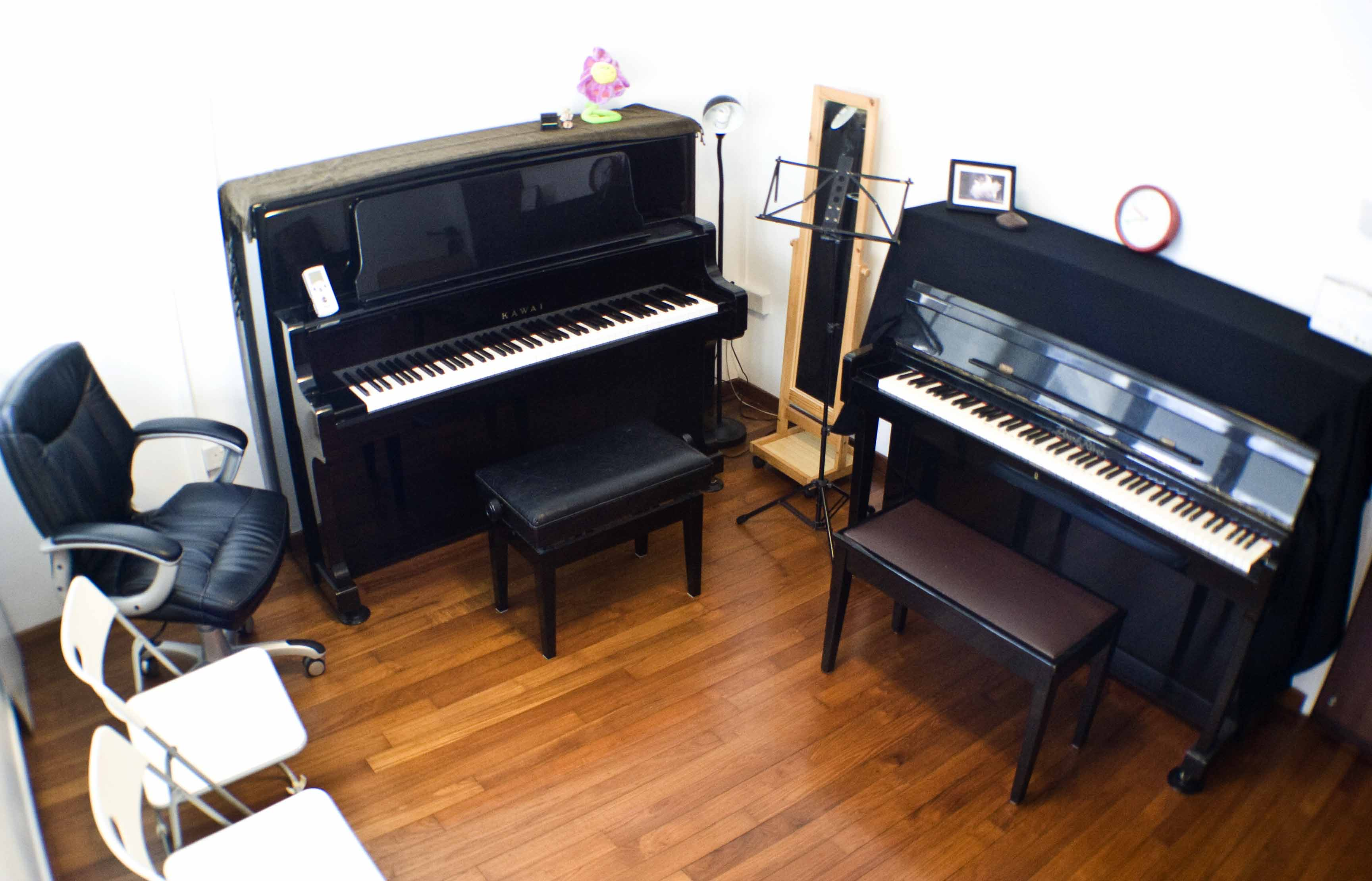 Violin and piano music studio singapore for Piano di studio